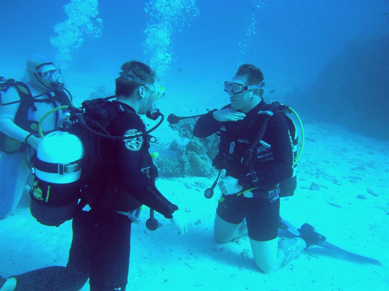 Diving course El Quseir Sahl Hasheesh
