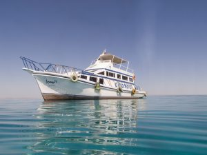 Diving boat Hurghada