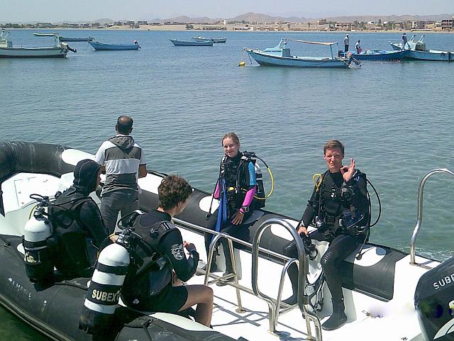Speed Boot Ausflug El Quseir Tauchen
