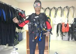 diving equipment rental prices