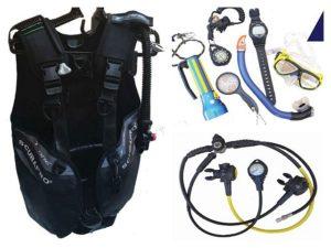 Ausrüstung Tauchen Specialty Sonderkurs